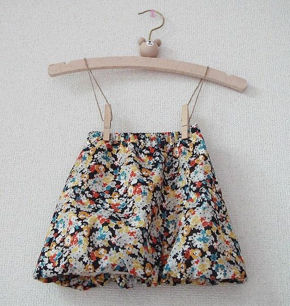 PDF e pattern - Balloon skirt for Kids - Size 1Y  -