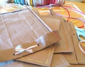 Set of 3 Handmade Shipping Mailers- Recycled