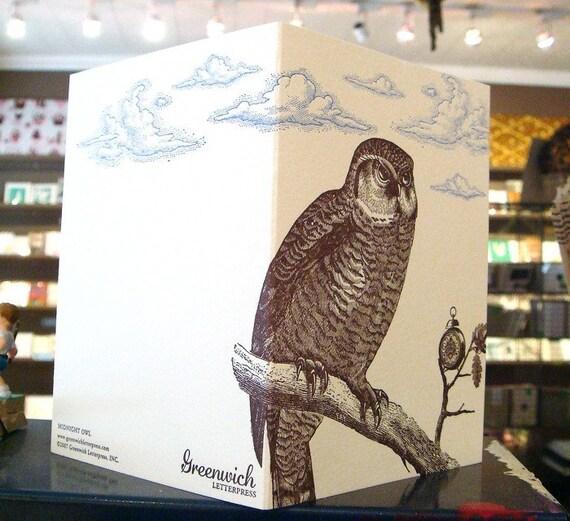 Midnight Owl, Everyday Card