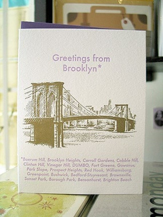 Brooklyn, New York Greeting Card Series, 6