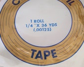 5 rolls of Copper Foil Tape 1\/4 inch x 36 yards NEW unopened Spring Cleaning