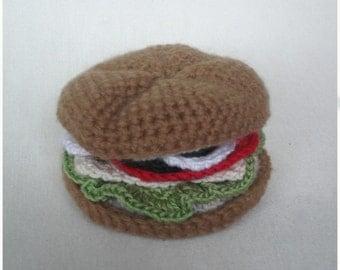 Turkey Sandwich on Kaiser Roll