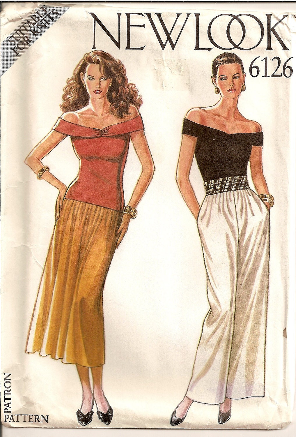 Luxury Simplicity Naaimode Nr.9 Womens Pants And Skirts Sewing Pattern 6896 New Look | Patterns ...