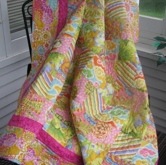 CLOSING SALE 50% OFF  Candy Burst Charm quilt