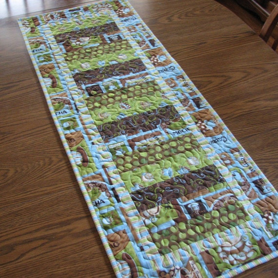 Coffee Time Tablerunner