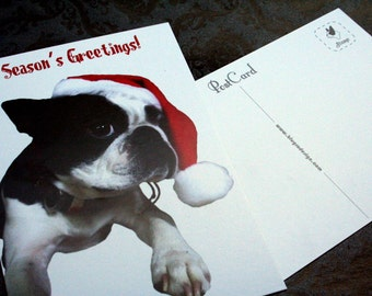 SALe 20 Holiday Boston Santa Postcards