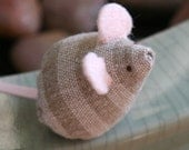itty bitty mouse linen stripes
