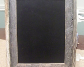 """Wooden Chalkboard with Rustic Handmade Frame-11"""" x 14"""""""