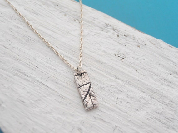 Leaf nature relic necklace