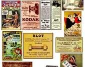 Vintage Ads Ephemera Advertisment Images Download Digital Collage Sheet GreatMusings No. 249