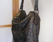 Bronze Goddess - Leather Handbag