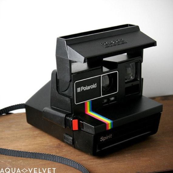 reserved vintage polaroid spirit 600 series camera. Black Bedroom Furniture Sets. Home Design Ideas