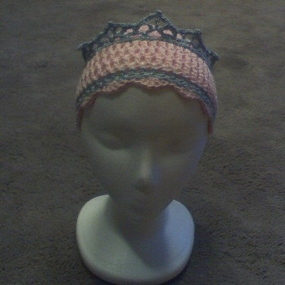 Pink Princess TIARA crown Hat for Toddler or Child - fun for any occasion