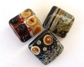 TRIBAL LIGHTS  - Handmade Lampwork Glass Beads