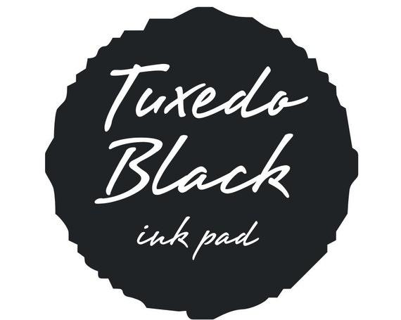 Black Ink pad for rubber stamps black stamp pad --9113