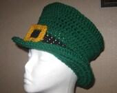 St Patrick's Day LEPRECHAUN HAT - Child Size