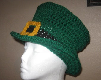 St Patrick's Day LEPRECHAUN HAT - Child Size