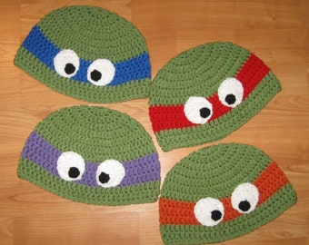 Turtle Beanie - All Sizes