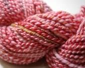 Handspun 2 ply merino\/corriedale yarn  YART SALE