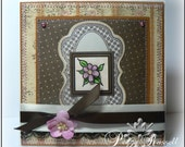 Posy handmade OOAK all occasion greeting card