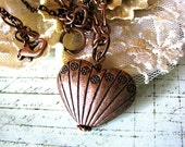 Heart of Copper Necklace