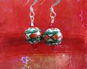 Folk Ornament Earrings