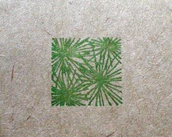Palm Fronds Letterpress Moleskine Journal