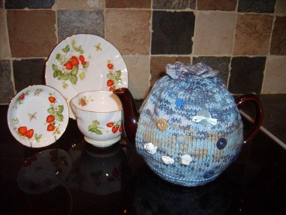 The cutest tea-cosy/cozy ever. To fit a medium tea-pot.