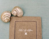 Hawaiian Hemstitch Napkins - Set of 10