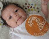 grow BABY grow 6 set of circle polka dot Onesies