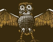 That robot owl from that one movie... unisex t-shirt