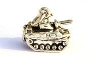 Army Tank Charm