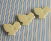 SALE 3 Little Yellow Easter Chick Magnets