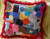 dream me a rainbow pillow-made to order