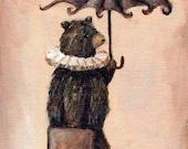 Dancing Bear - 8x10 Print