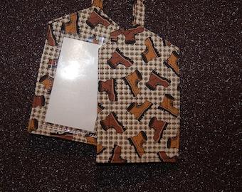 Fabric Luggage Tags - Set of 2
