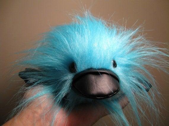 Wild Blue Platypus No 2