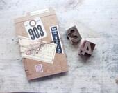 Vintage Repurposed Office Papers Journal or Planner
