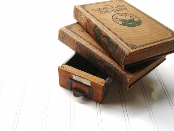 Vintage 1920's Young Folks Treasury Library Books Set