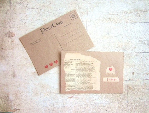 Vintage Romeo and Juliet Card