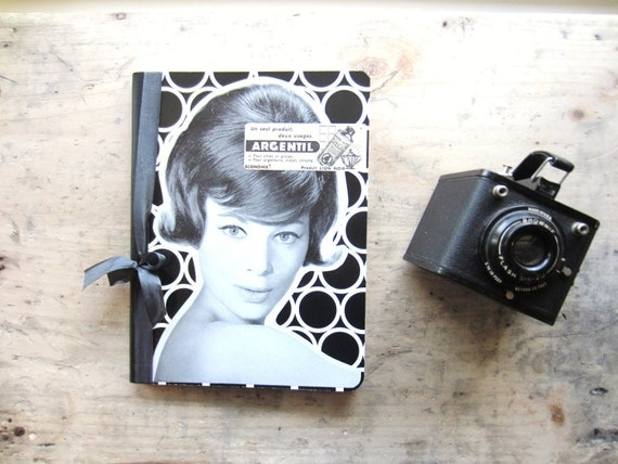 Vintage French Girl Journal