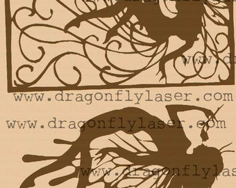 2 butterfly fairies digital delivery art