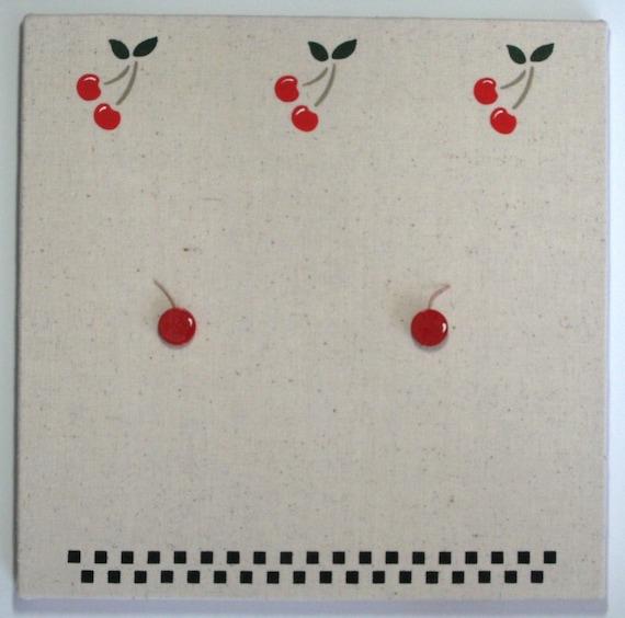 Cherry Bulletin Board Cherries Push Pins