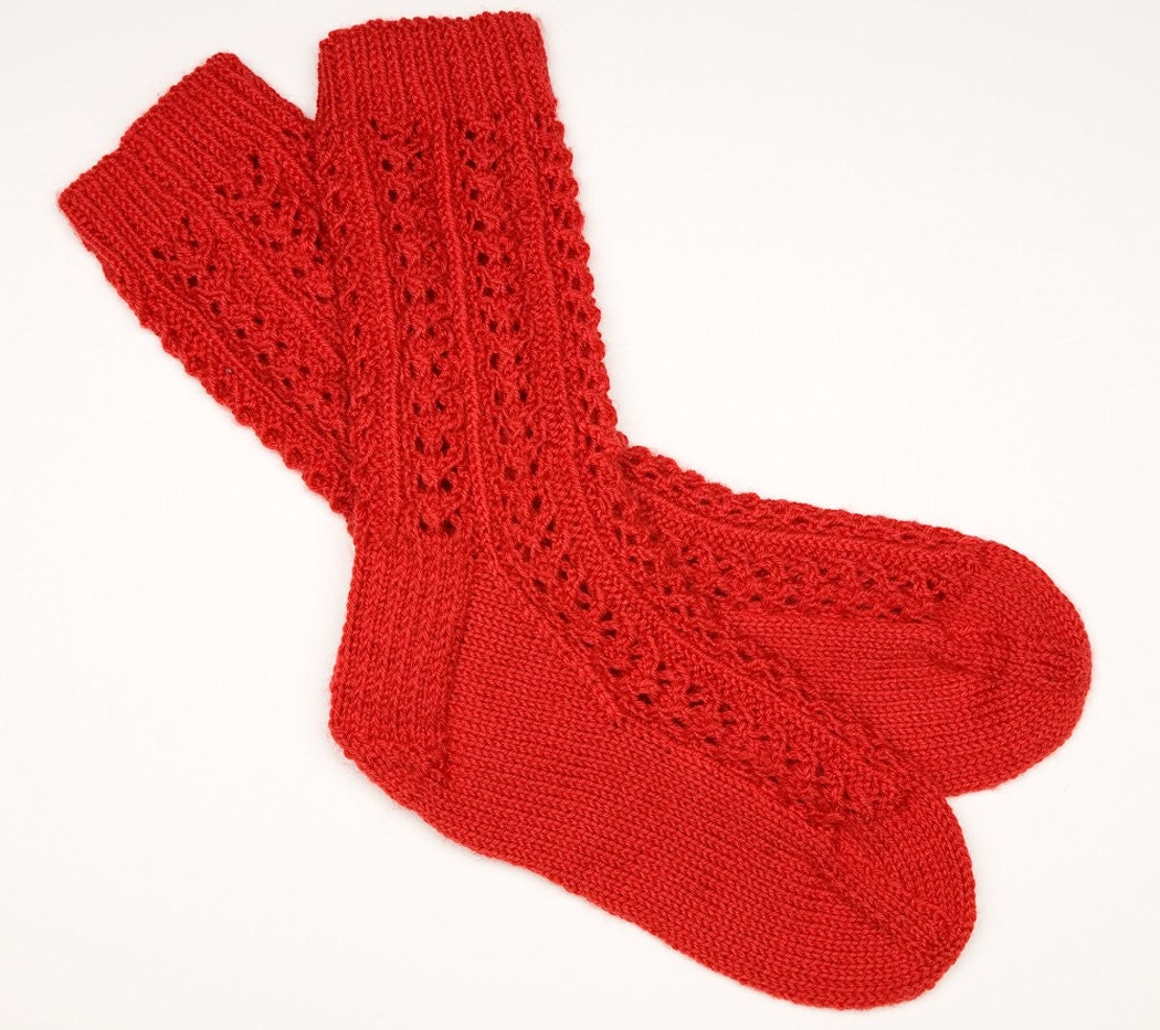 Lacy Red Socks SALE