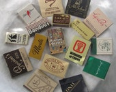 Vintage 1970's NYC Matchbook, Matchbox Collection, Collector, Craft Supplies