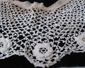 SaLE VICTORIAN Irish Crochet Handmade LACE COLLAR WaS 35.00 NoW 29.99