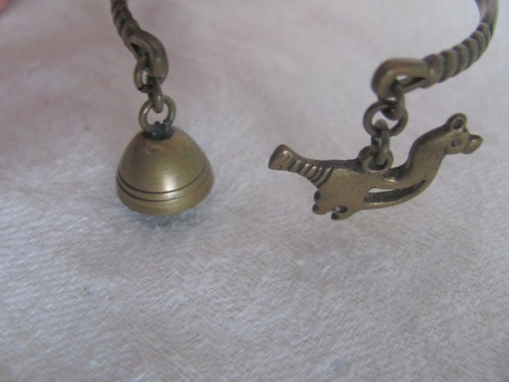 SaLE KALEVALA KORU Bird And Bell Bronze Bracelet  Finland Was 65.00 Now 59.99