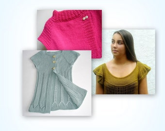 SWEATER PATTERN BUNDLE No Two Snowflakes presents Katrina Ballerina Flying Trapeze Rockefeller Center Pdf patterns by Nicole Feller-Johnson