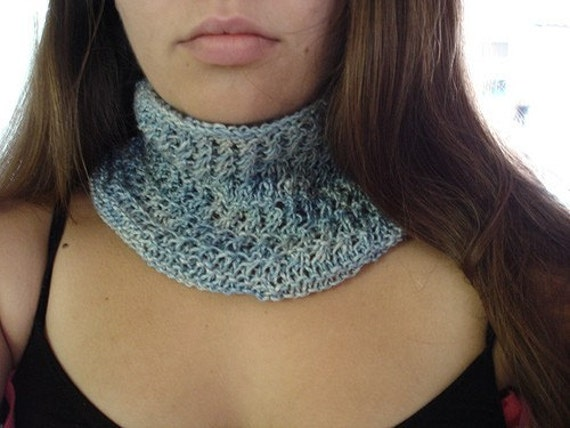 No Two Snowflakes presents Charlotte Luxury Cowl TEXTURED LACE COWL PATTERN PDF by Nicole Feller-Johnson