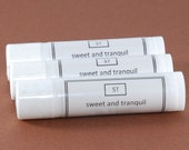 Chocolate Lip Balm tube unsweetened with Shea Butter